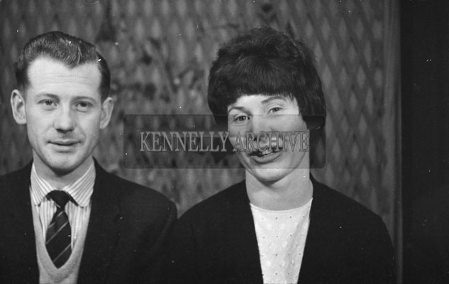 1953; A Studio Photo Of A Couple Posing For The Camera.