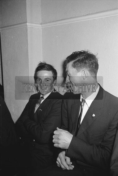 9th December 1962; People enjoying the night at a dance which took place in Firies.