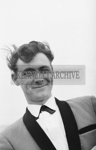 1964; A Photo Taken of A Member of The Maurice Mulcahy Band At Ballybunion.