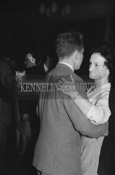 23rd October 1964; A Couple Pictured Enjoying The Night At The Hotel Manhattan.