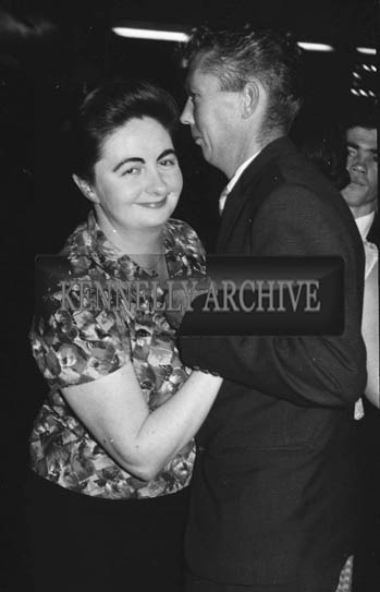 25th October 1964; Norrie Galvin Enjoying The Night At The Ashe Memorial Hall Dance With Music Performed By The Hilton Showband.