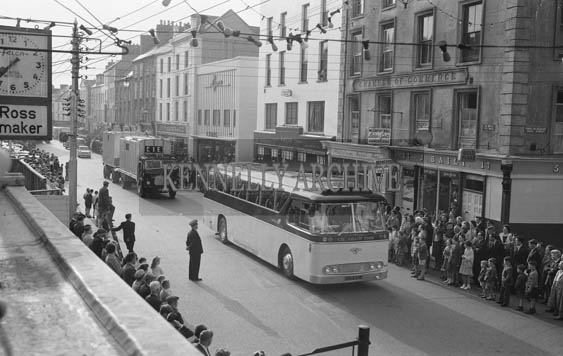 26th May 1964; A photo taken at the Kingdom County Fair Opening Parade in Tralee.