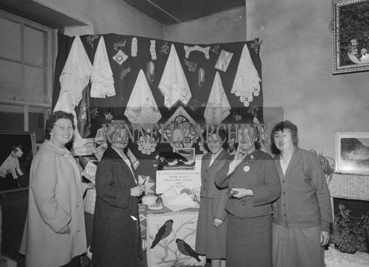 26th/28th May 1964; A photo taken at the Home and Interiors Stand at the Trade Fair at the Kingdom County Fair in Tralee.