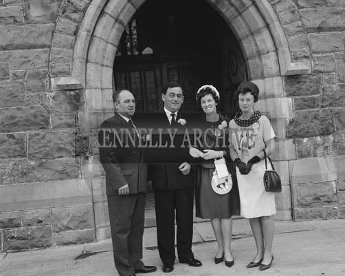 June 1964; A photo taken at a wedding in Ballybunion.
