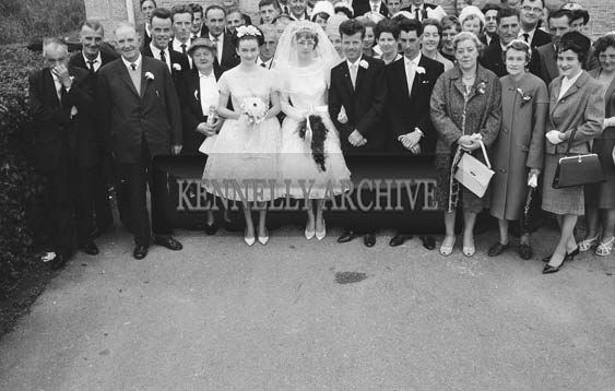 June 1964; A photo taken at the wedding of P J and Eileen in the Church of the Immaculate Conception (St Catherine's), Tralee.