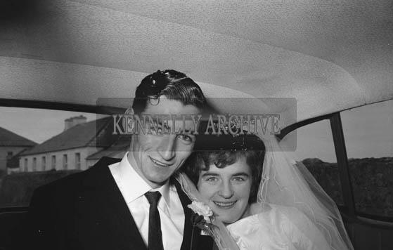 February 1964; A photo taken at a wedding in Ballyferriter.