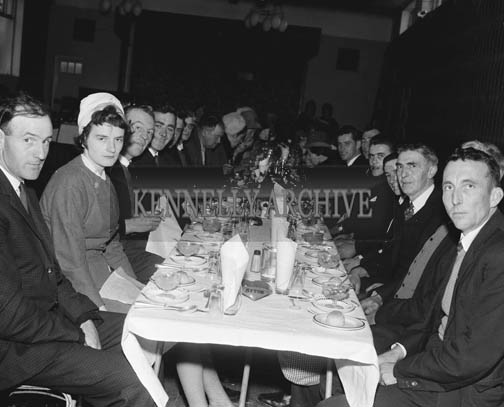 24th November 1964; A photo taken at the Quilter/O'Halloran wedding reception in the Hotel Manhattan, Tralee.