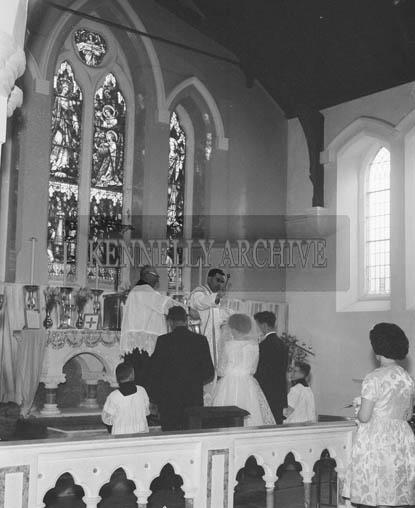 April 1964; A wedding in Ballyheigue.