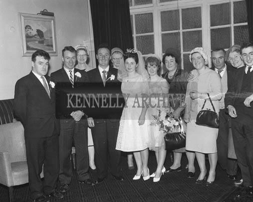 April 1964; A photo taken at a wedding reception in the International Hotel, Killarney.