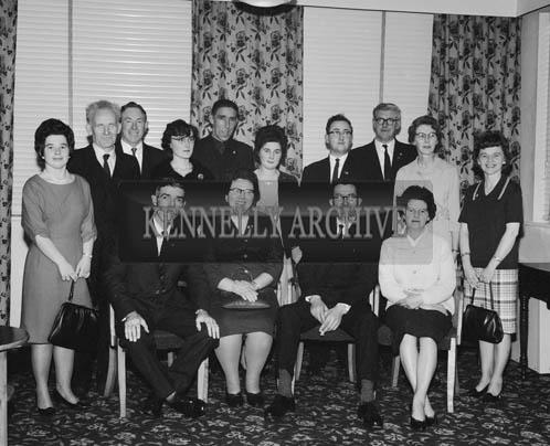 December 1964; A photo taken at the Fleadh na Nollag de Conradh na Gaeilge in the Meadowlands Hotel, Tralee.