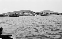 1953; A Scenic View Of Valentia Island From The Sea.
