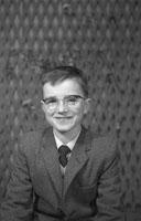 Studio Photo Of A Confirmation Boy