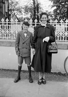 May 1957; A photo taken on confirmation day in Ballylongford.