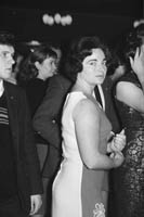 23rd October 1964; A Woman Pictured Enjoying The Night At The Hotel Manhattan.