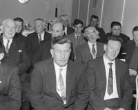 Fisherman's Co-operative Society's First Annual General Meeting.