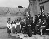 The Opening of Muckross House to the Public