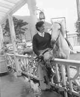 Helen Sweeney and her Horse