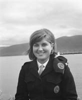 A Member of the Civil Defence at Fenit Festival