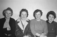 A Group of Women Socialising
