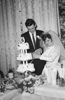 February 1964; A wedding reception in Benners Hotel, Dingle.
