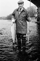 A Man with a Salmon