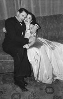 December 1953; A Very Happy Couple At A Dress Dance.