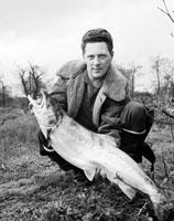 Junior Doyle with a Salmon